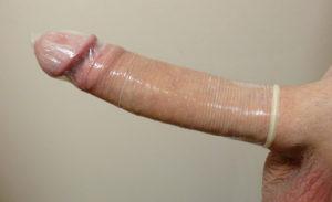 как одевать презерватив