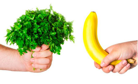 зелень для полового здоровья мужчин