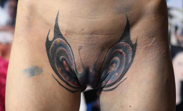 татуировки на письке