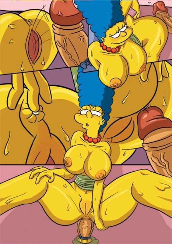 секс комиксы симпсоны на русском