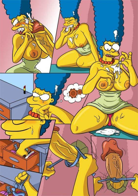 секс порно комиксы симпсоны